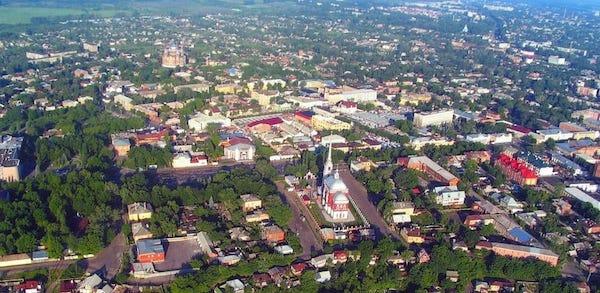 Фото: Район Ильинского храма г. Мичуринска